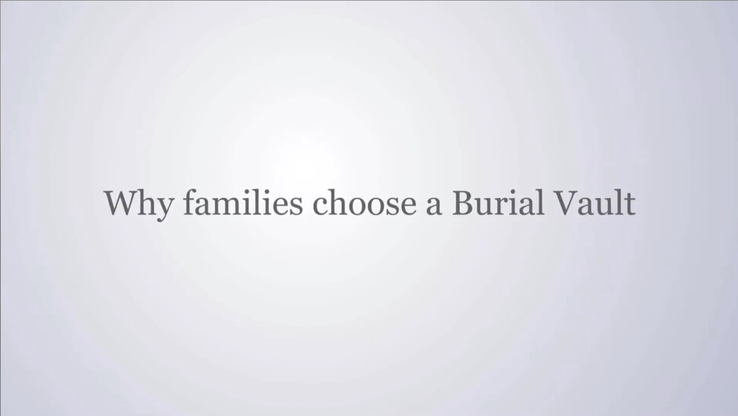 Burial Vaults | Foust Funeral Home | Eagle Grove IA funeral